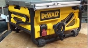 dewalt dwe7480 back side