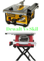 Dewalt DW745 Vs Skil 3410-02