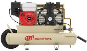 ingersoll rand ss3j5.5gh wb gas powered air compressor