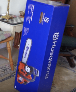 Husqvarna 440E chainsaw unboxing