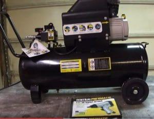 central pneumatic air compressor parts