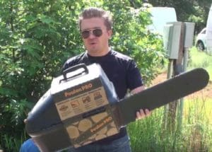 PP5020AV chainsaw unboxing