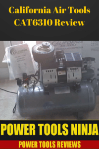 California Air Tools Air Compressor CAT 6310 review