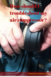 air compressor troubleshooting