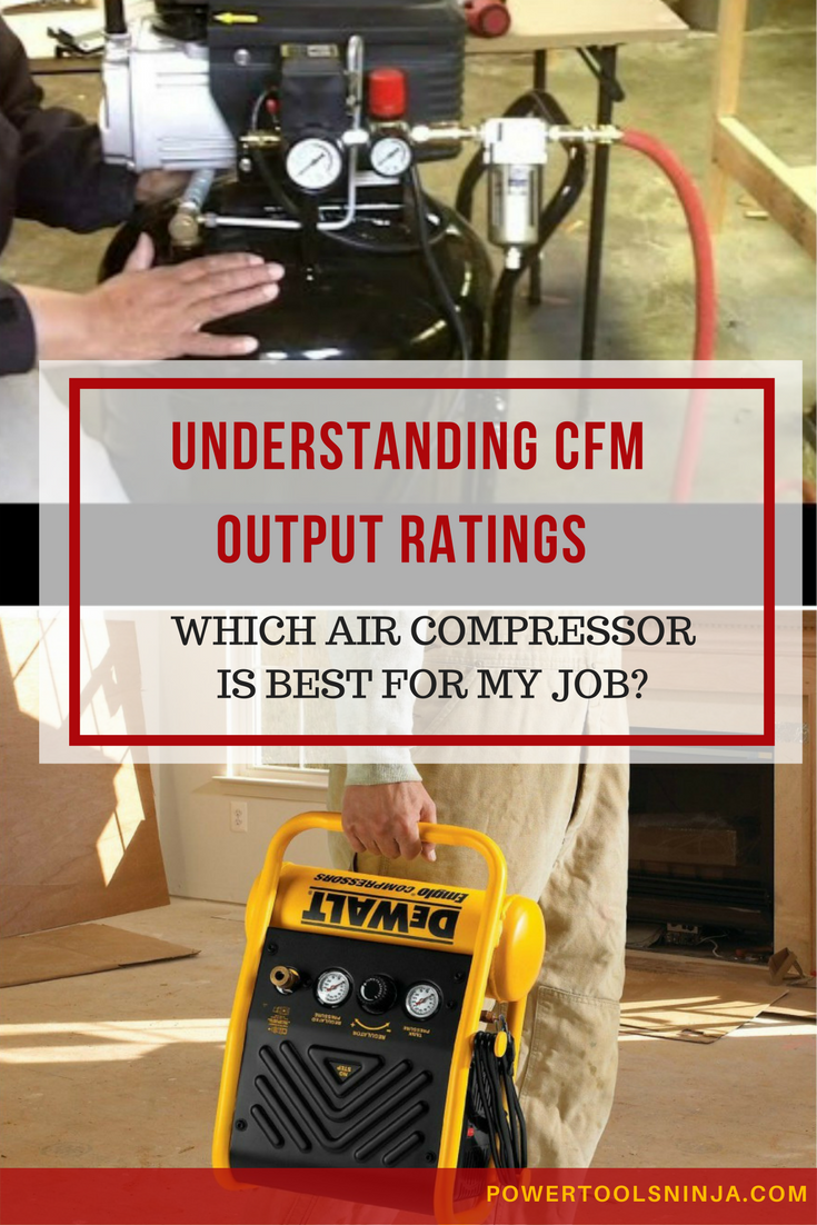 Find out why air compressor CFM is an important specification you should look, when you want to match the right air compressor with air tools.
