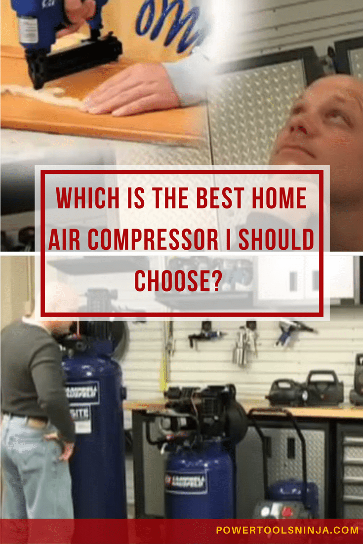 Looking for the best home air compressor to use at home or in your garage? Teach yourself about the important things you should have in mind.