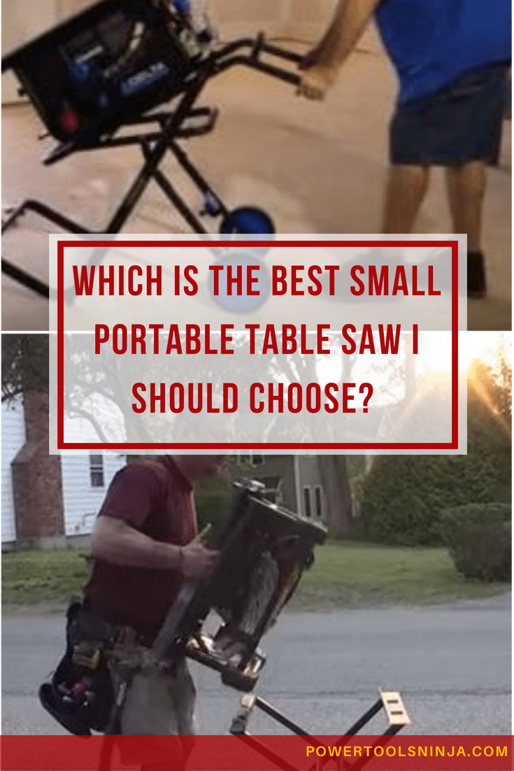 All you DIY enthusiasts and professionals are always looking for the best small portable table saws.Your search is over:Check my top 5 picks!