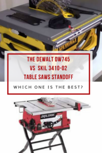 Comparing the dewalt dw745 vs skil 3410 02 table saws dewalt dw745 vs skil 3410 02 standoff greentooth Image collections
