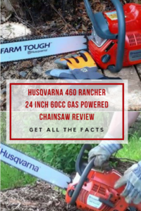 Husqvarna 460 Rancher 24 Inch 60cc gas powered ChainSaw Review