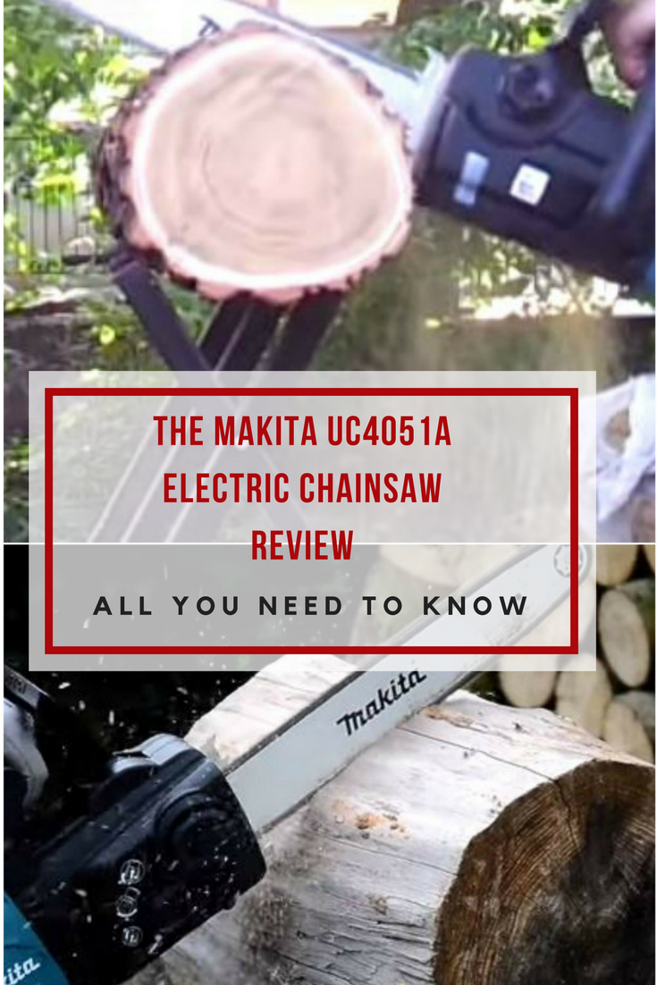 If you are looking for a small and lightweight electric powered chainsaw, then you should definitely read my Makita UC4051A review!
