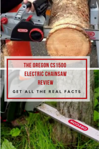 Oregon CS1500 Electric Corded Chain Saw Review