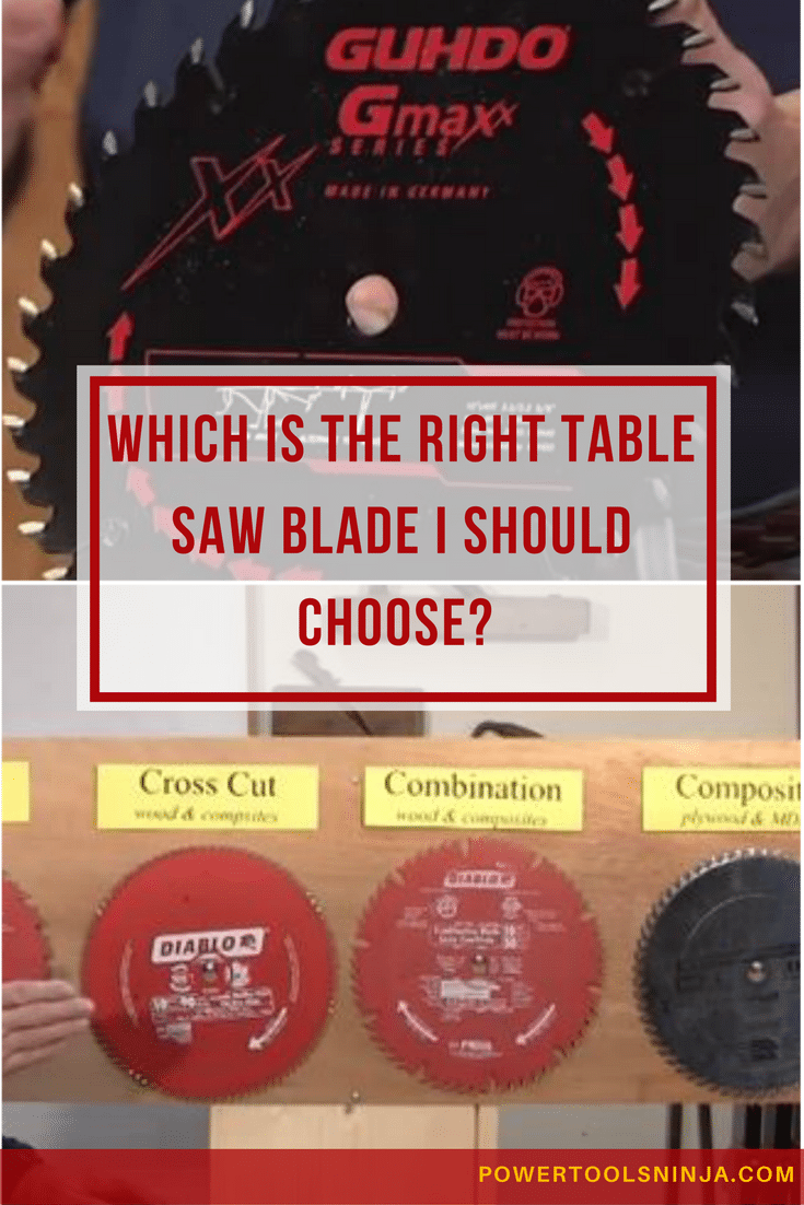 A very important part of your table saw is the blade.Make sure you pick the right table saw blades for ripping,plywood,hardwood, or trim.