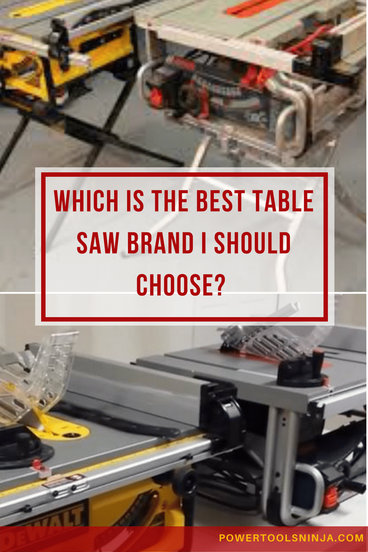 Table Saw Brands And Manufacturers
