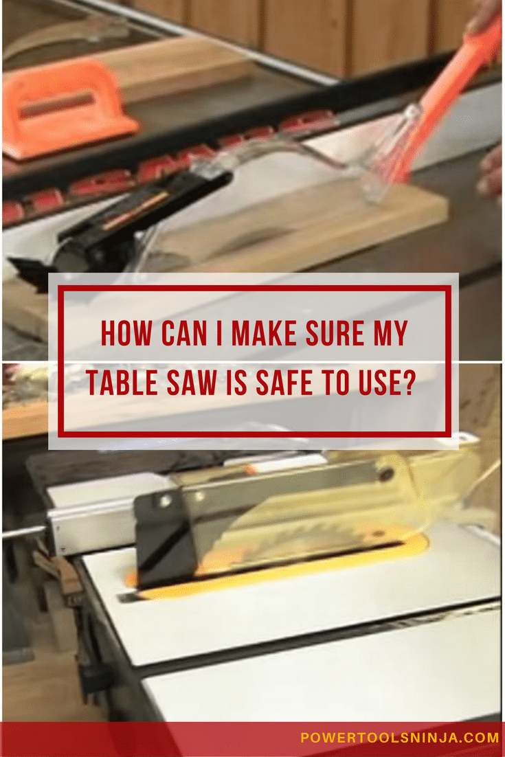 A table saw is one of the most useful power tools.However,if no proper table saw safety procedures are taken,there are risks of injury.
