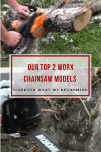 Top Two Worx Chainsaw Models