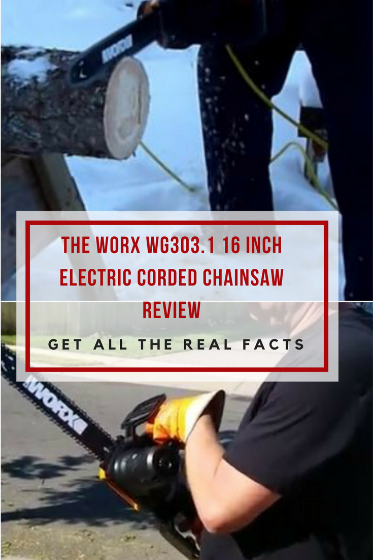 If you are a homeowner who only wants to do light sawing work around the house,then the WORX WG303.1 16-inch Chainsaw is ideal for you.Read on!