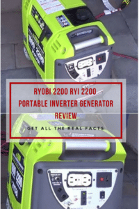 Ryobi 2200 RYI 2200 Portable Inverter Generator Review
