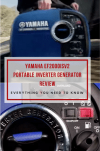 Yamaha EF2000iSv2 Portable Inverter Generator Review
