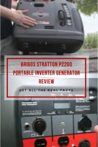 Briggs Stratton P2200 Portable Inverter Generator Review