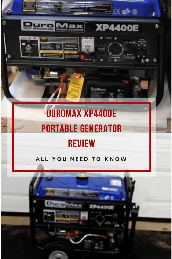 If you live in a disaster prone area,then you should check the DuroMax XP4400E portable generator, 4400 Watts surge power from a 7HP motor.