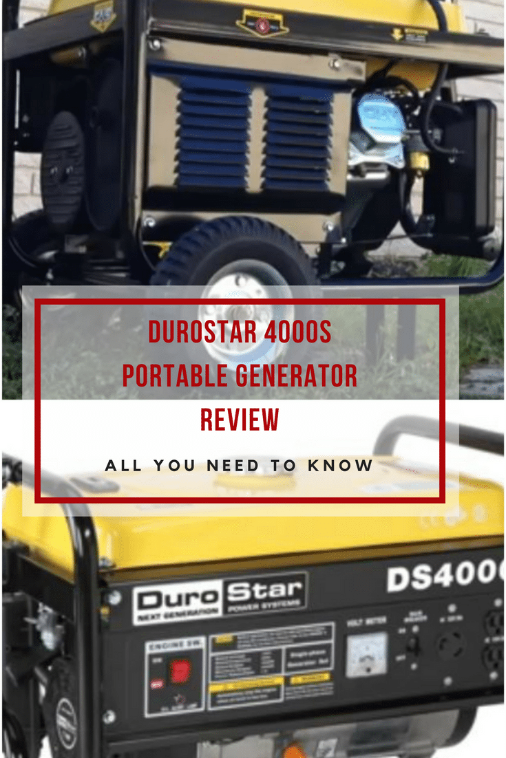Durostar DS4000S Portable Generator Review