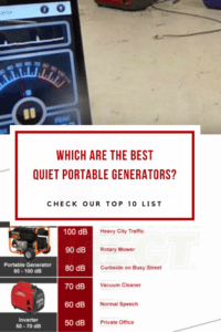 Quiet Portable Generators Top 10 List