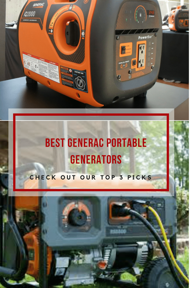 Searching for a home backup generator to use on a campsite or a jobsite? Check the top 3 Generac portable generators we recommend.