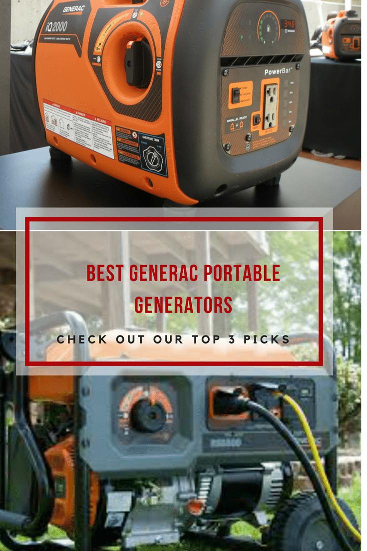 Best Generac portable generators