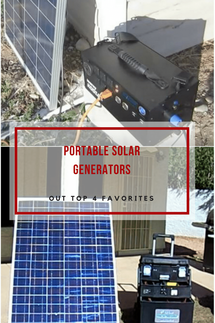 If you are thinking of buying a solar generator, then these four recommended portable solar generators will be a great starting point.Read on!