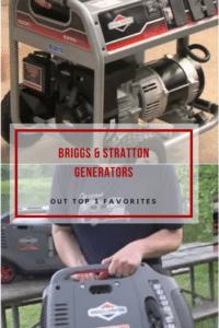 Briggs Stratton generators portable inverter
