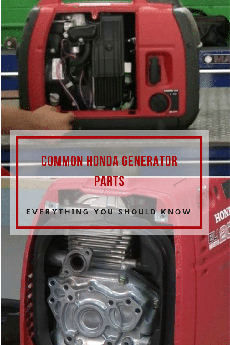 Are you a honda generator owner? If yes, this guide will help you get familiar with all of the basic Honda generator parts and accessories.