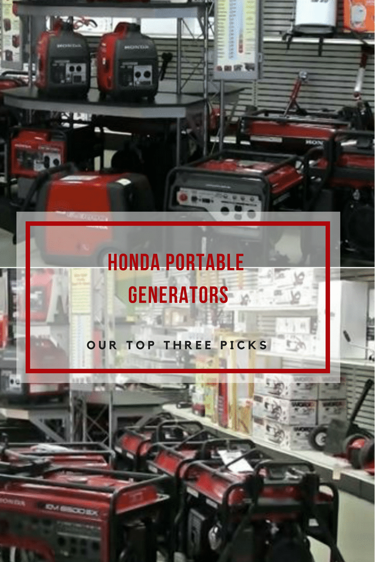 We review three Honda portable generators,from the small EU1000i to the Honda 7000W.See which model might be right for your next purchase.
