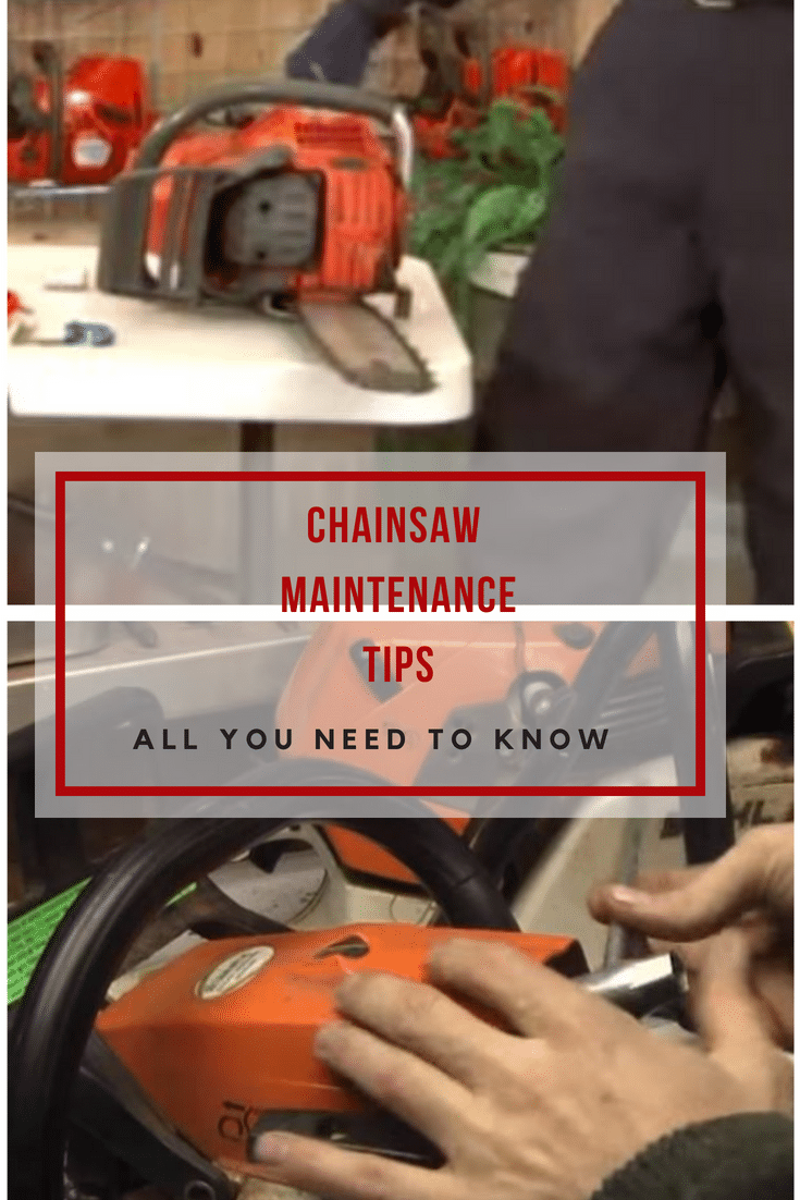 Some of the most common chainsaw maintenance practices you should follow. Investing little time and effort will save you in the long run!