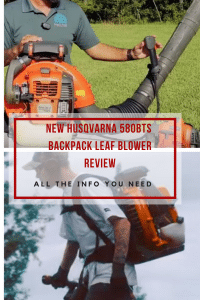New Husqvarna 580BTS Backpack Leaf Blower