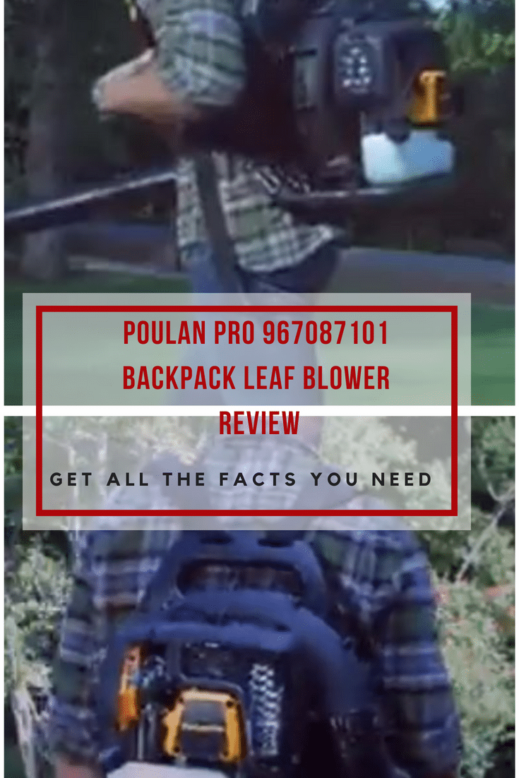 The Poulan Pro 967087101 Backpack Leaf Blower is one of the better options to go with if you need a powerful leaf blower.Read our review!