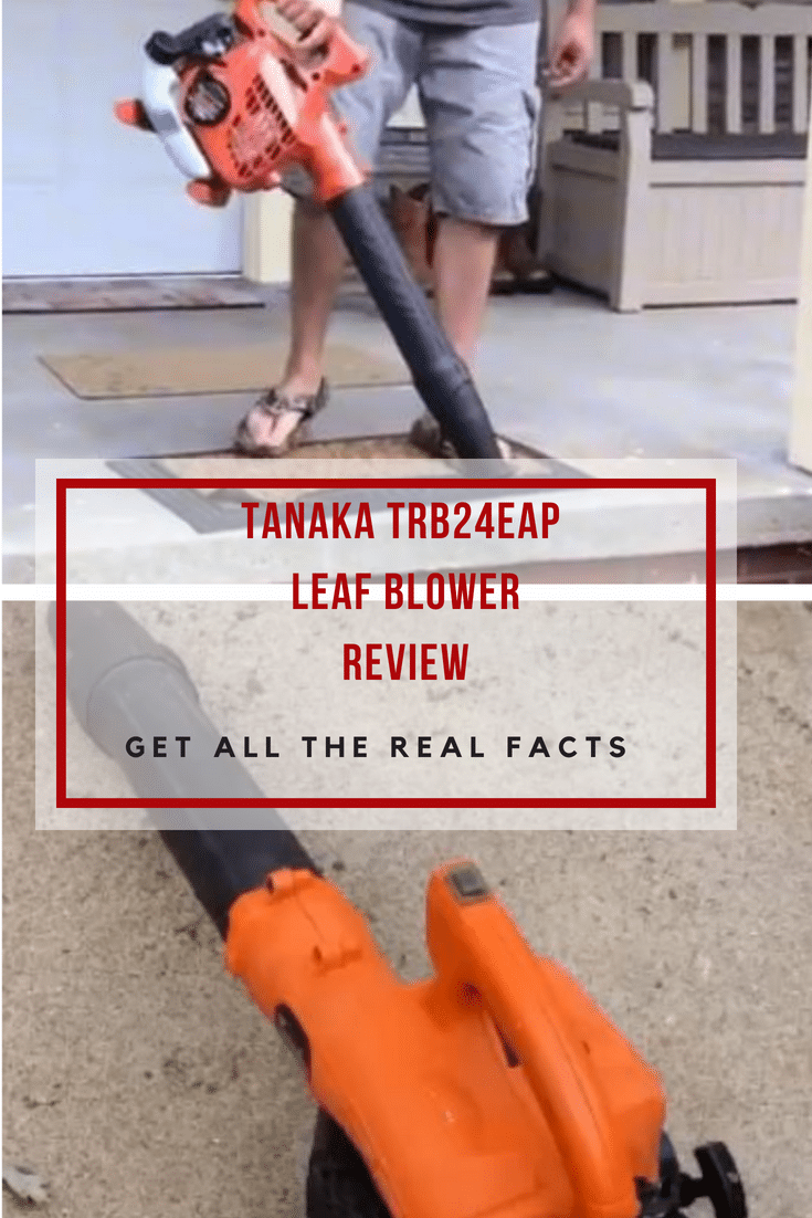 The Tanaka TRB24EAP Leaf Blower is a mid-range gas powered ,fairly small and lightweight machine which is ideal for your yard.Read our review!