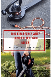 Toro 51585 Power Sweep Electric Leaf Blower