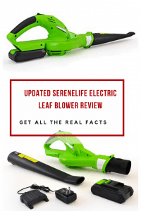 Updated SereneLife Electric Leaf Blower