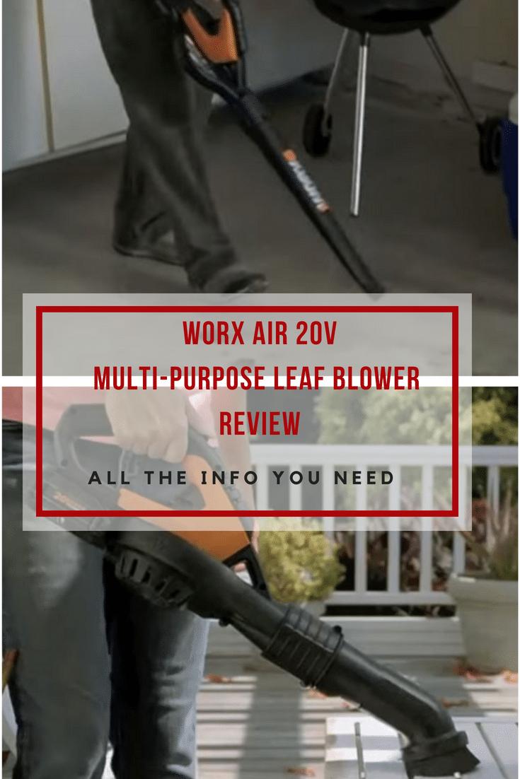 WORX AIR 20V Multi-Purpose Leaf Blower