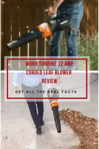 WORX TURBINE 12 Amp Corded Leaf Blower