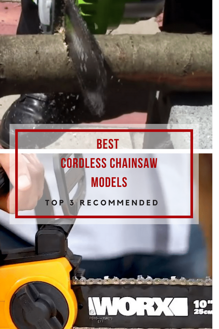 The best cordless chainsaw models combine the convenience of a cordless model with cutting power of a corded chainsaw.Check our top 3 picks!