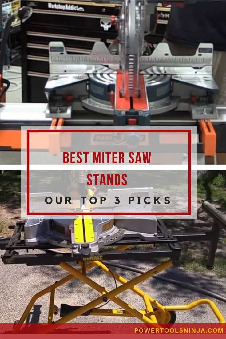 When using a miter saw, most probably you will need a miter saw stand as well. Here are out top 3 picks for the best miter saw stand!