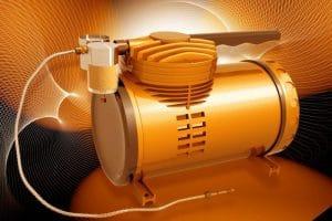 digital image of an air compressor