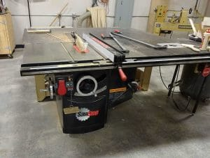 Stationary TableTop Saw