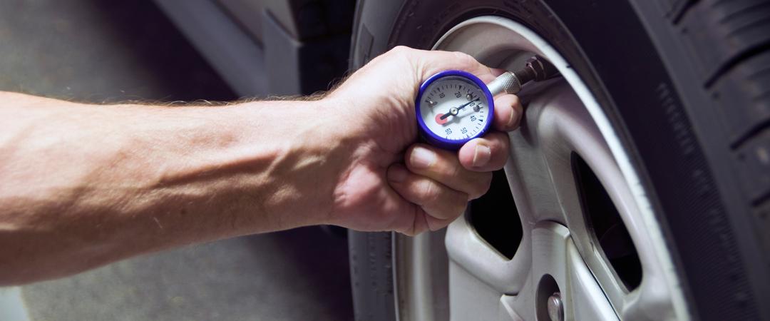 PSI tire gauge