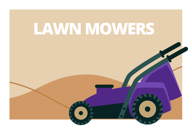 Lawn Mower Category Icon