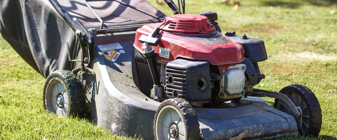 Older lawn mower