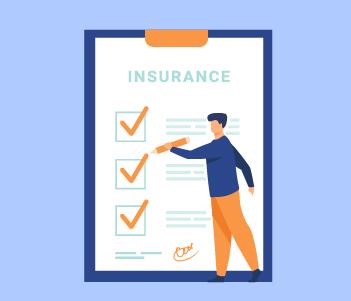 Insurance checklist drawing