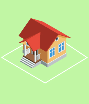 2.Know Your Property Lines ( basically create an image of the land that the house is on and draw a line around it)