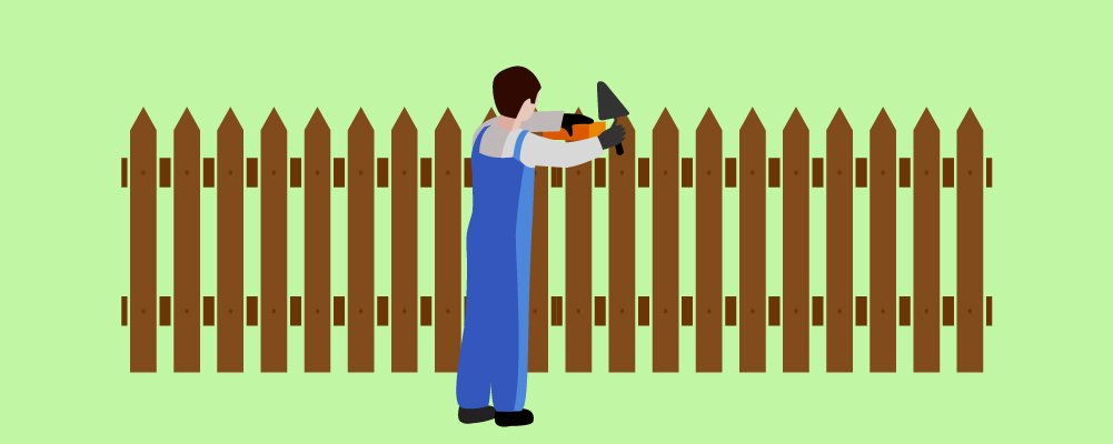 5.Install The Fence Pickets